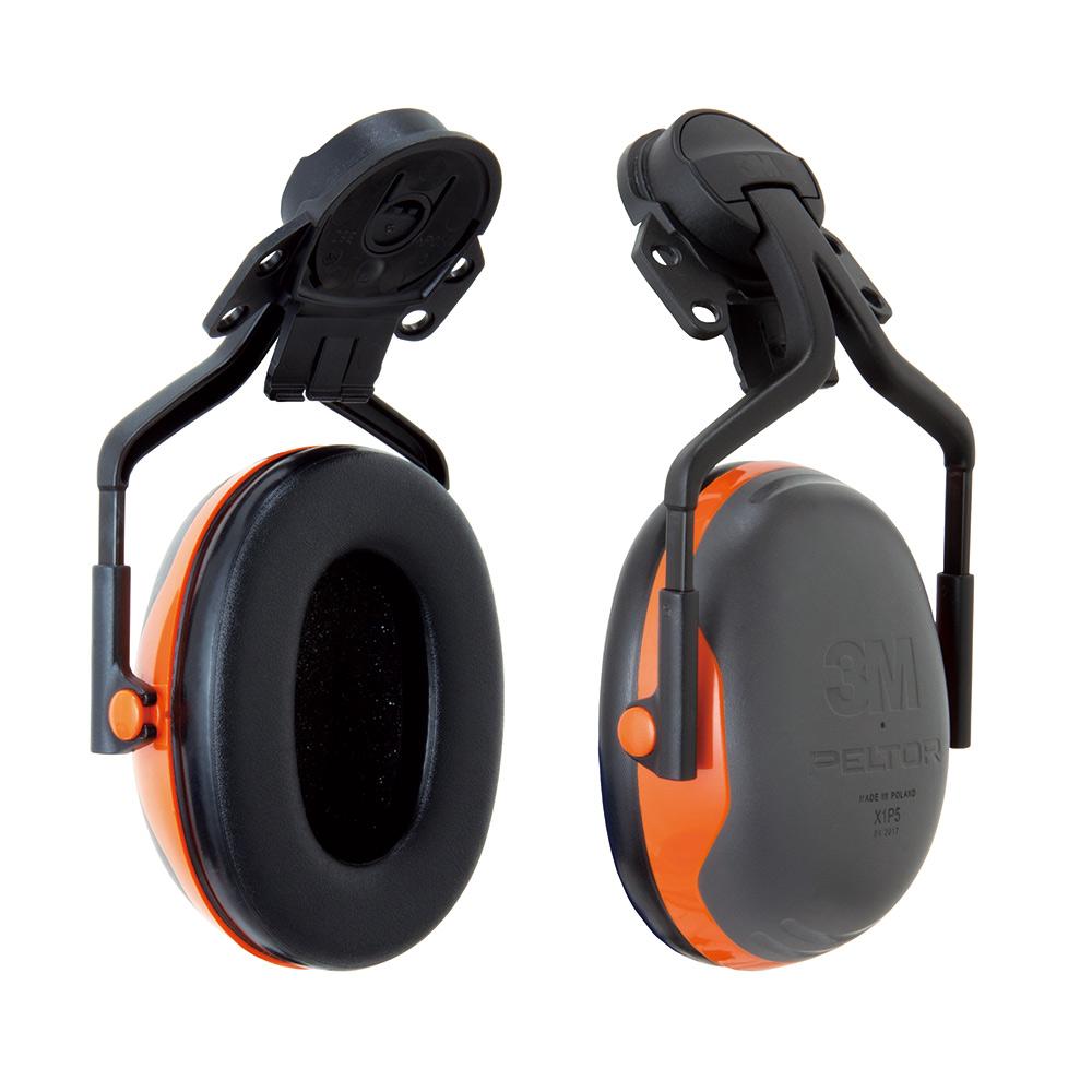 3M PELTOR イヤーマフ(ヘルメットアタッチメントタイプ)X1P5E-OR