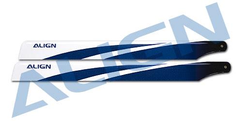【HD360B】 カーボンファイバーブレード 360 3G 【フライバーレス用青】