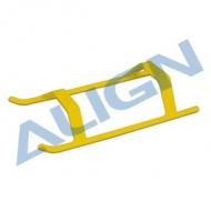 【H47F001XEW】 ランディングスキッド 黄色 【470L/450L/450Pro DFC/450ProV2】