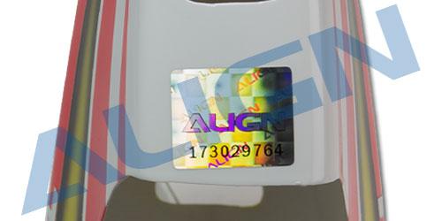 【HC4356】 塗装済みキャノピー 黄色 【450L】