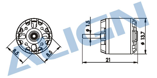 【HML15M03】 150M メインモーター 【150/150X】