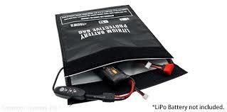 HP-LIPO-BAG-LH Hyperion 温度調節可能 LiPo ウォーマー保護バッグ ラージサイズ (29x23cm)