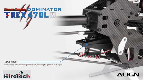 【RH47E01XW】 T-REX 470LM ドミネータースーパーコンボ今回入荷分はジャイロのバージョンがVer5.1となります。