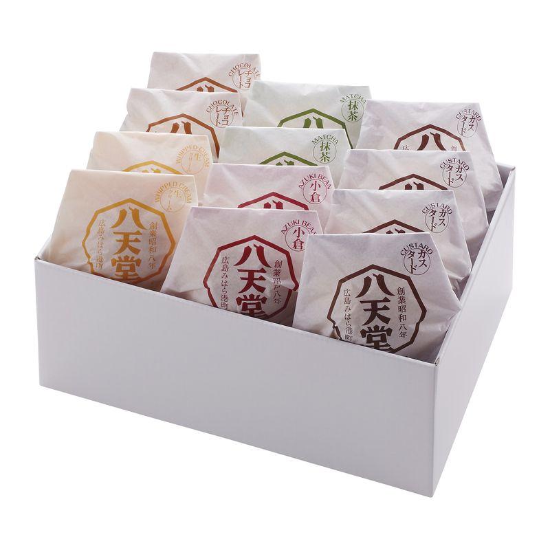 八天堂 プレミアムフローズン くりーむパン詰合せ 12個入り (送料無料)