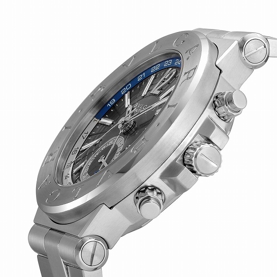 BVLGARI ブルガリ ディアゴノ DG40C14SSDGMT メンズ腕時計 (送料無料)