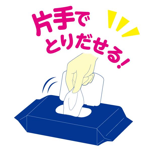 アテント 流せるおしりふき 無香料72枚×12パック【733593】【ケース販売】
