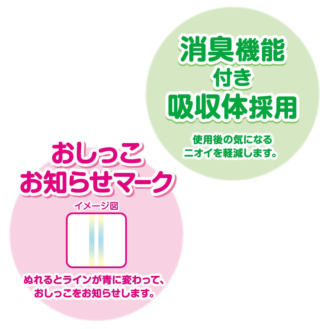 グーン パンツ まっさらさら通気 Sサイズ 76枚×3パック【843007】【ケース販売】