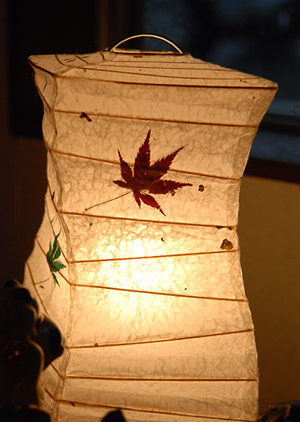 和紙照明 テーブルライトひねり