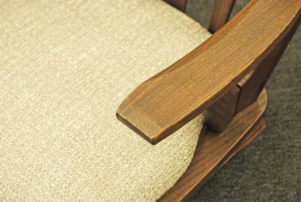 座椅子 栗材ONK/OBK/OGK【肘付き】