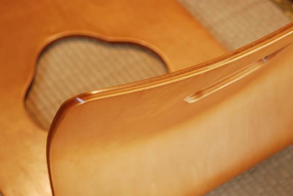 座椅子 L字【4脚セット】 【旅館で見かけるシンプルな曲木】