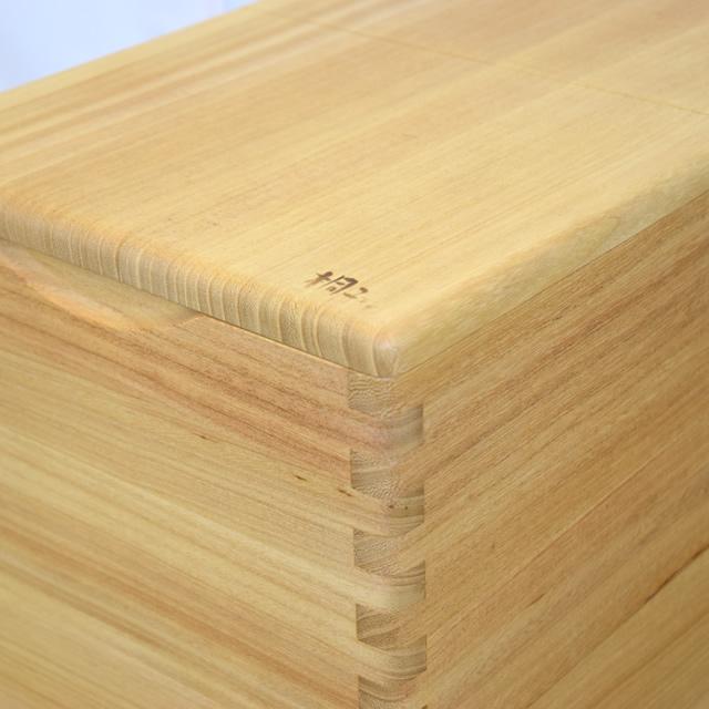 桐の米びつ 30kg用 イシモク(1合升付)【送料無料】