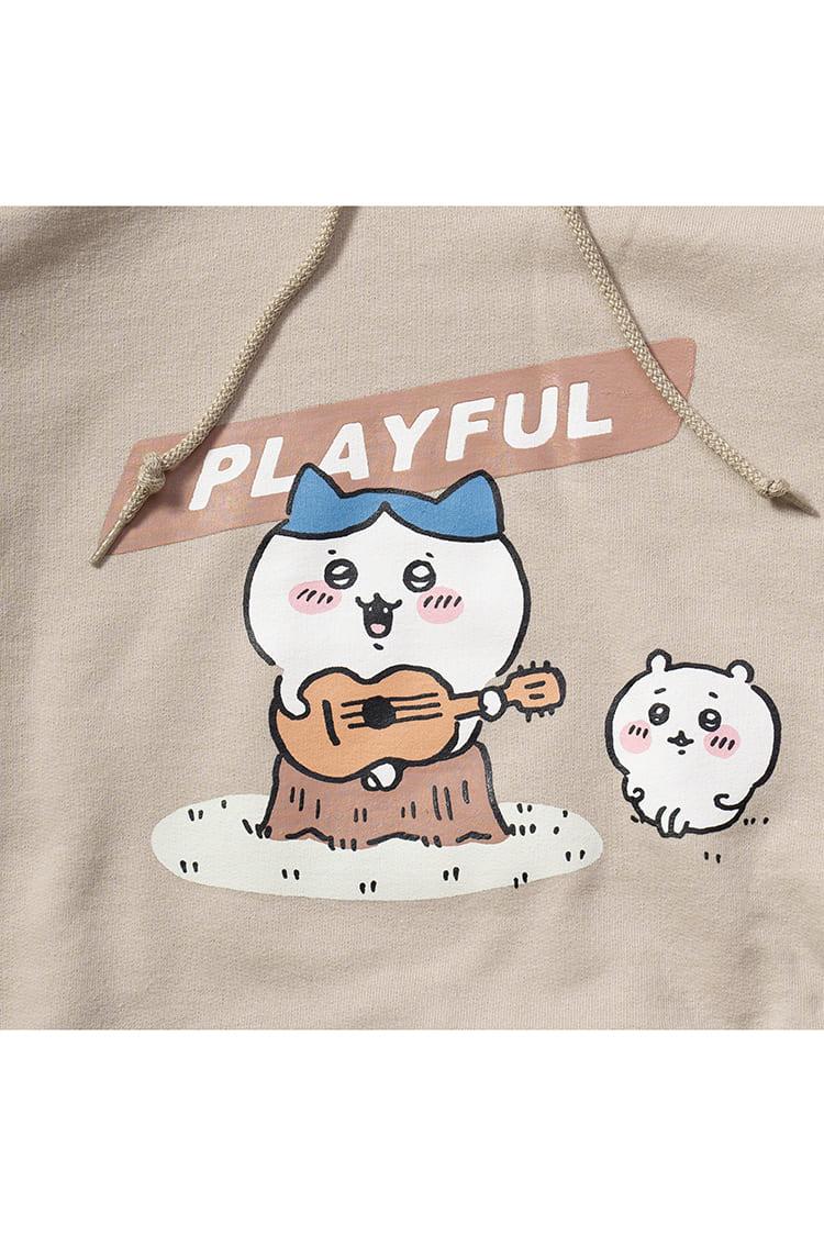 ちいかわ PLAYFUL P/Oパーカ サンド
