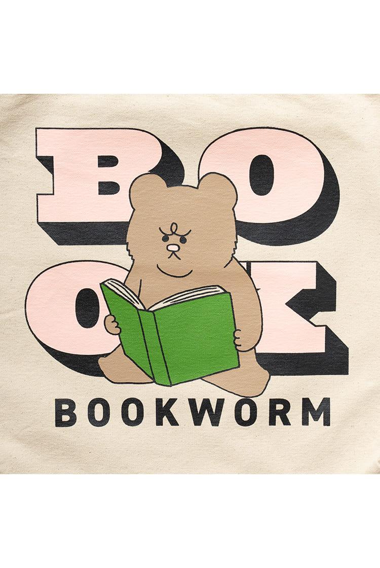 悲熊  2WAYショルダーバック BOOKWORM ナチュラル