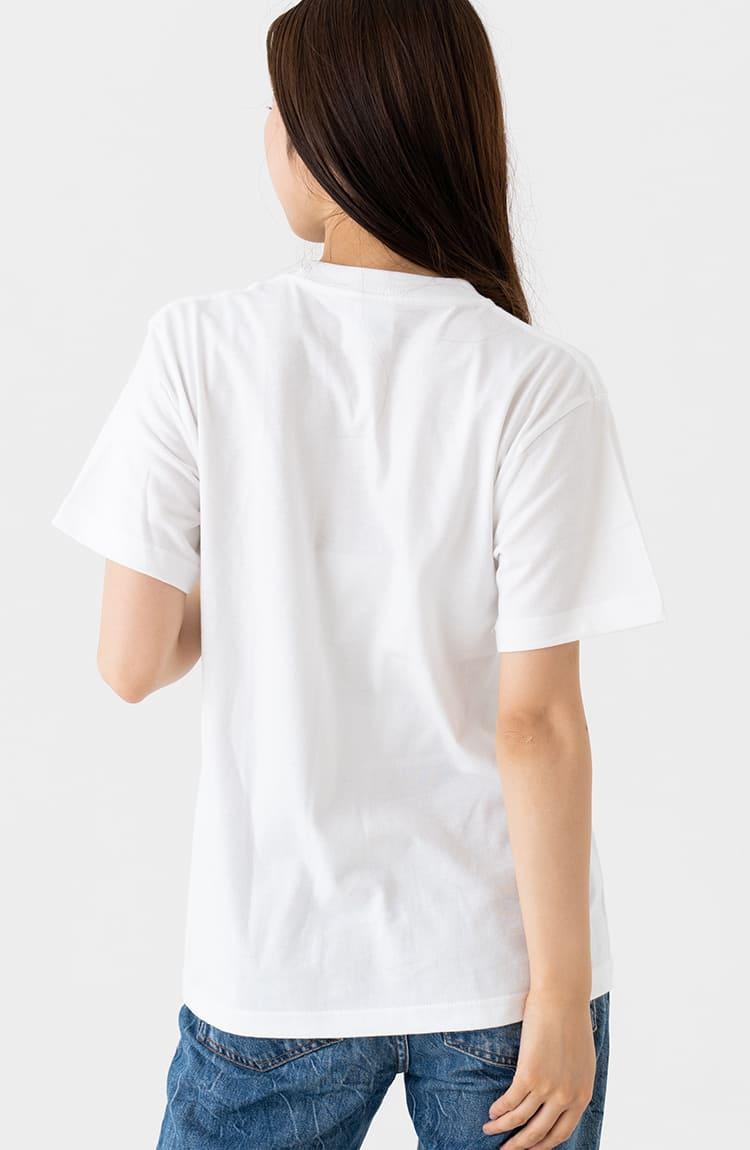 もぐコロ Tシャツ 楽譜 ホワイト