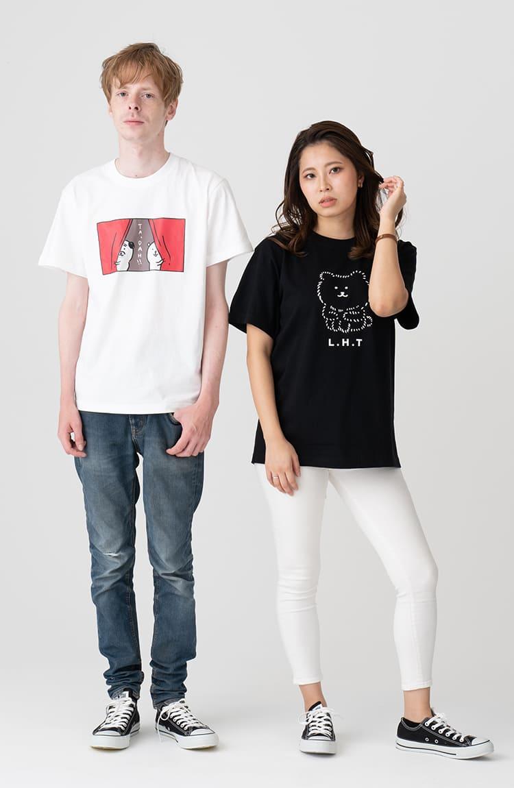 KUMA Tシャツ 登場タラー! ホワイト