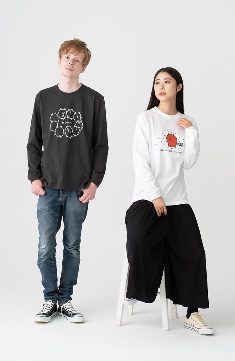 KUMA L/S Tシャツ ダンス スミ