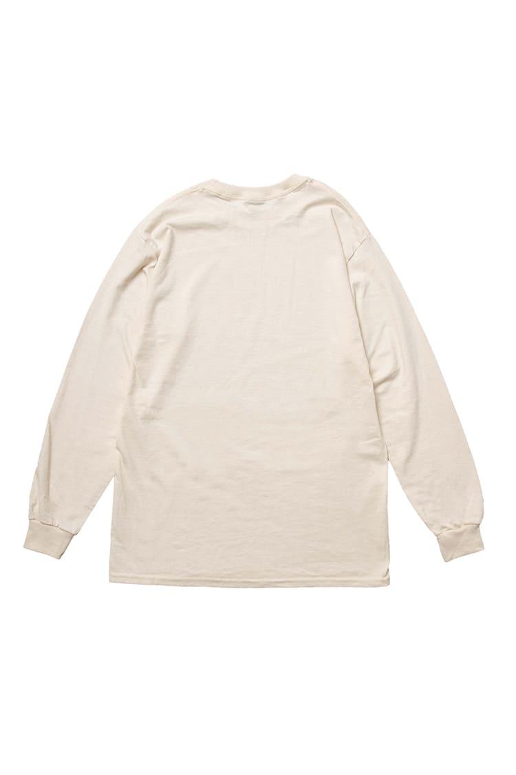 コウペンちゃん L/S Tシャツ 毛糸 ナチュラル