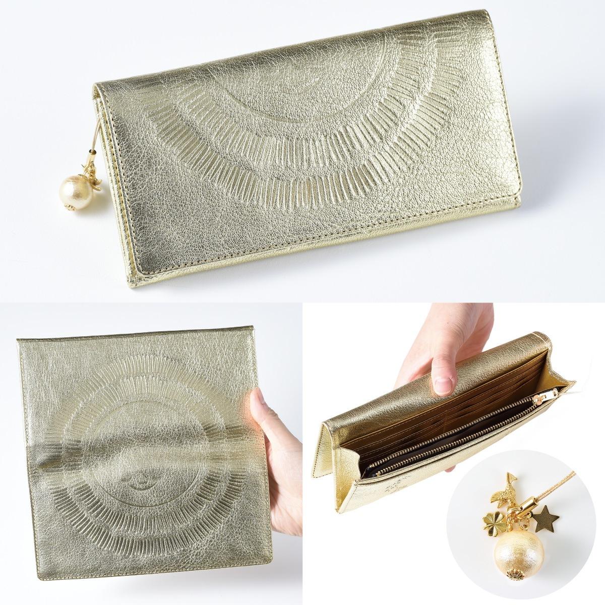 世界中に笑顔を広げるアーティスト RIEの『太陽の金運財布』