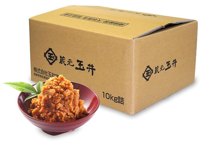 限定仕込み味噌 10kg箱入り 15420