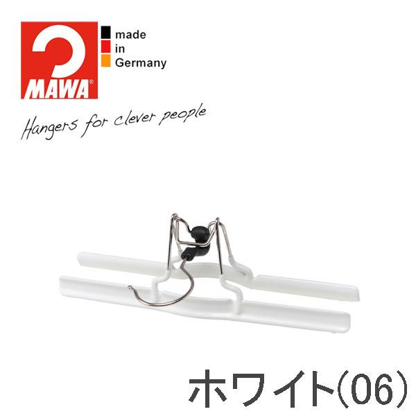 MAWAハンガー(マワハンガー)スカート・パンツ吊り mat26 10本セット (ブラック/ホワイト)【SET_10】