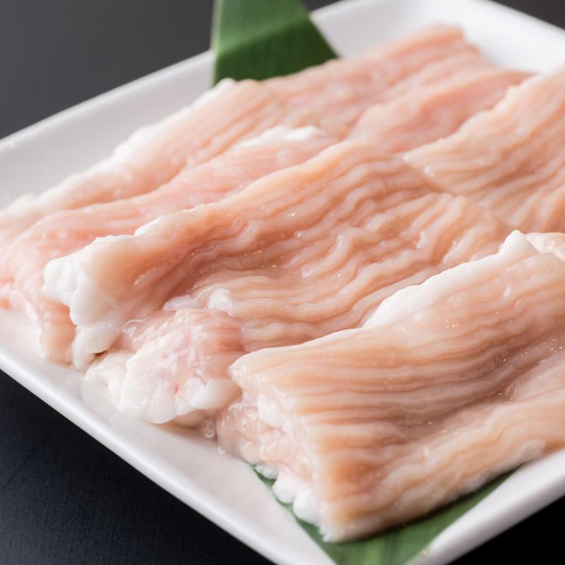 たむほるの極上てっちゃん(シマ腸)200g(100g×2個)(ホルモン・もつ鍋・焼肉にも)