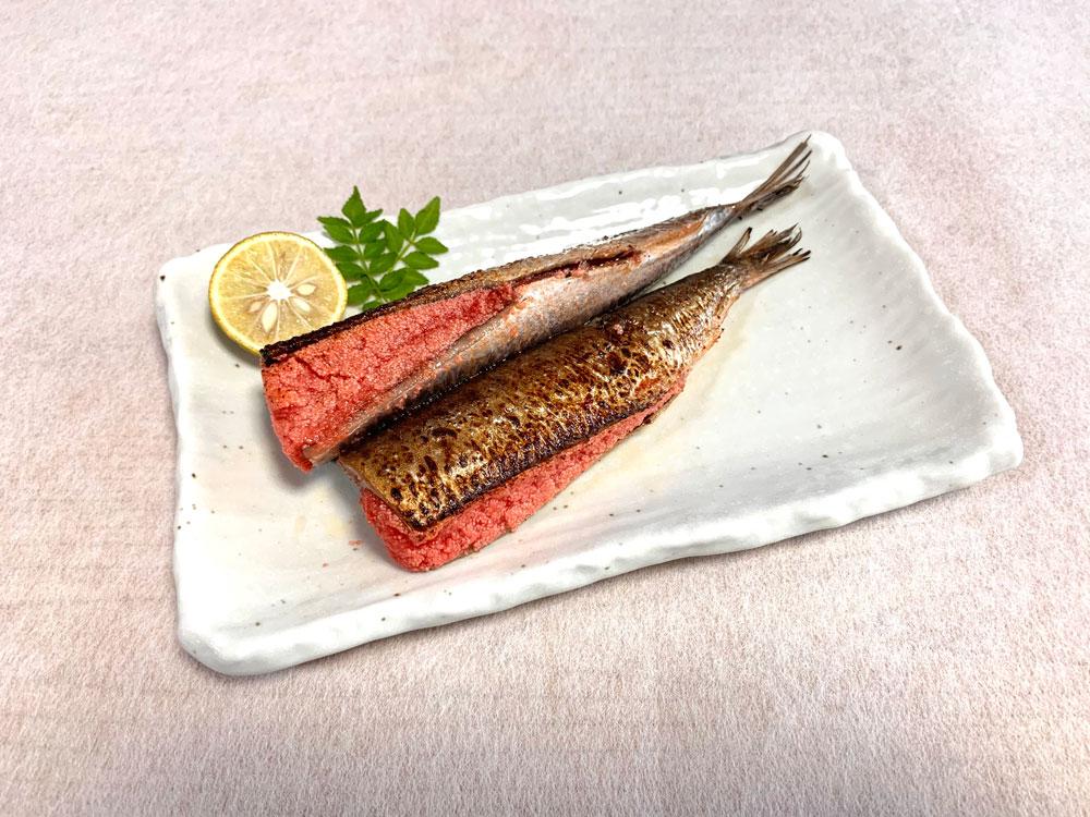 博多のお買得セット 辛子明太子 無着色(上切子)+ いわし明太子 + 鮭トロのめんたい漬