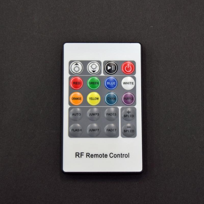 LEDテープライト用RGBコントローラー/DC12V-24V/無線式