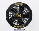 AC220 ファンユニット (ブラック) 【BURTLE(バートル)】