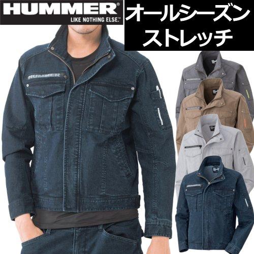 305-4 HUMMER ストレッチブルゾン 【アタックベース】