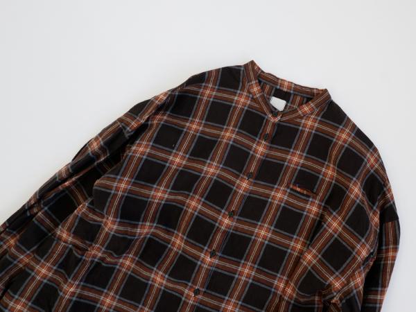 【30%OFF】休日と詩 マリンバロングシャツ