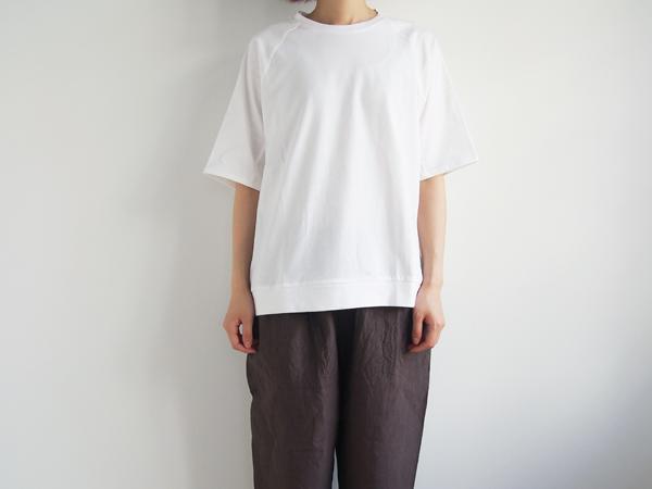 "【30%OFF】 休日と詩 きまぐれカットソー""5分袖"""