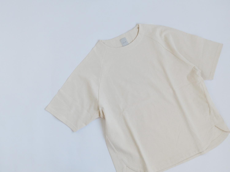 休日と詩 バターミルクTシャツ