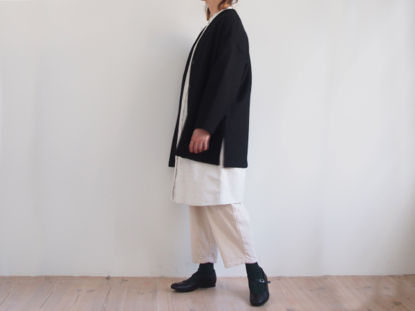 【30%OFF】オローネ Vネックミドルカーディガン