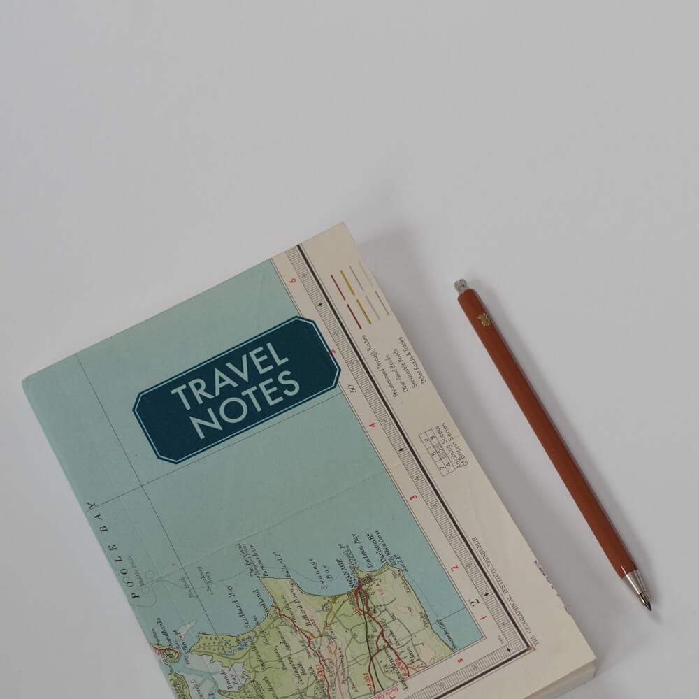 スーキー SUKIE : TRAVEL NOTES 8mm罫線 ノートブック