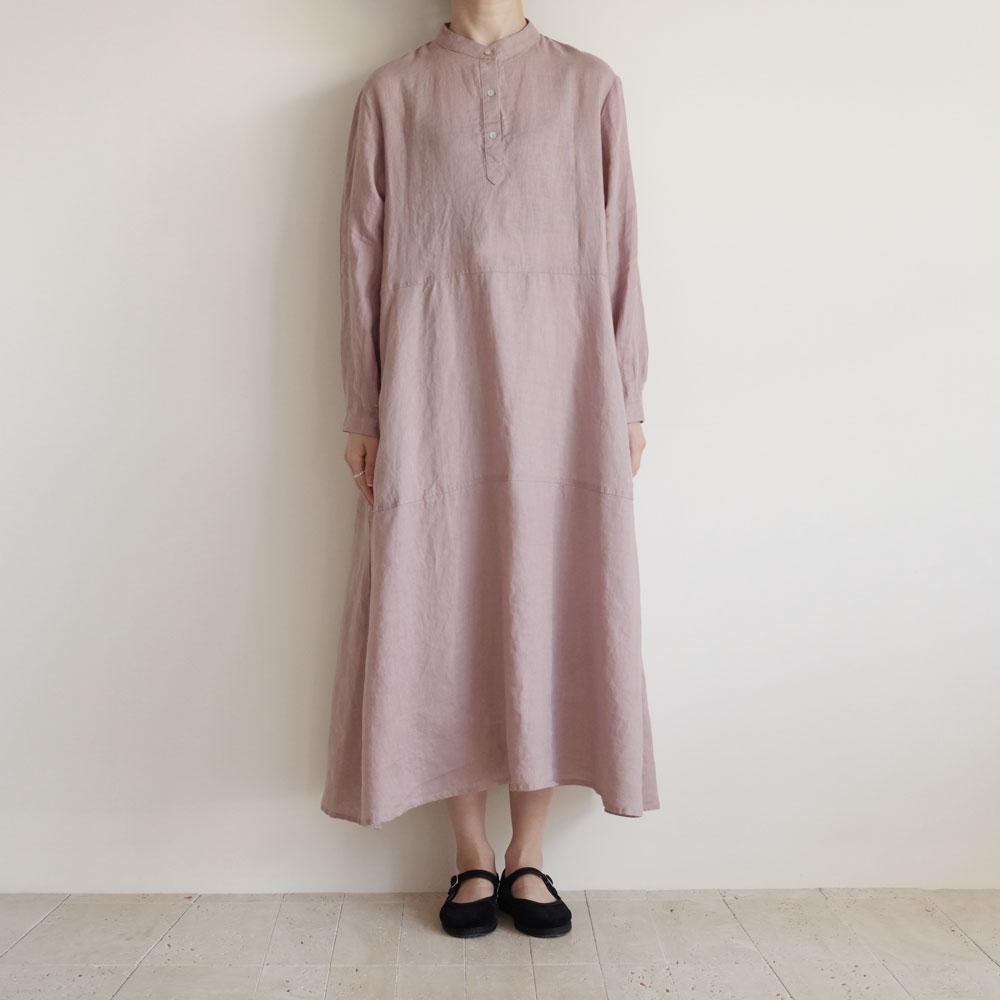 フォグリネンワーク fog linen work : NATALIE DRESS ナタリーワンピース(ROSE)