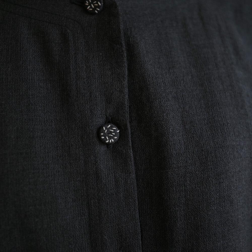 エカ eka : CRATER JACKET 刺繍入り 羽織りジャケット