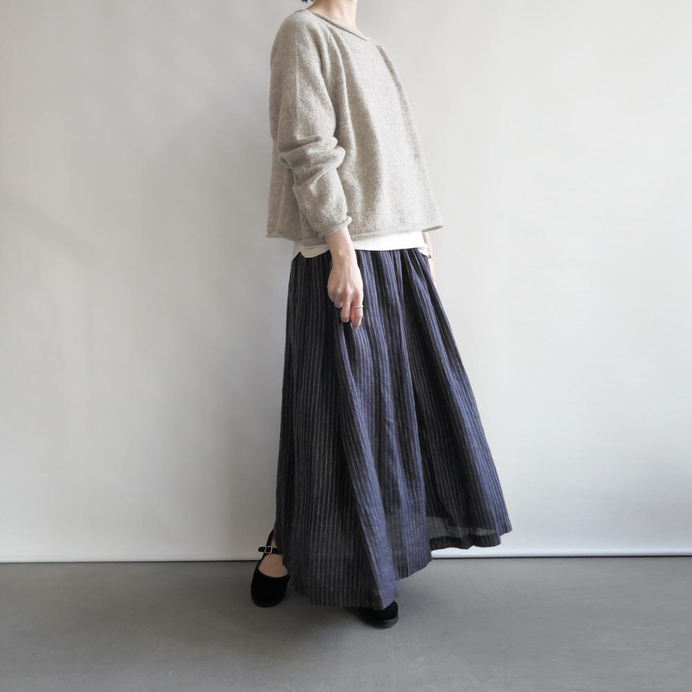 フォグリネンワーク fog linen work :stacy skirt ステーシー ギャザースカート