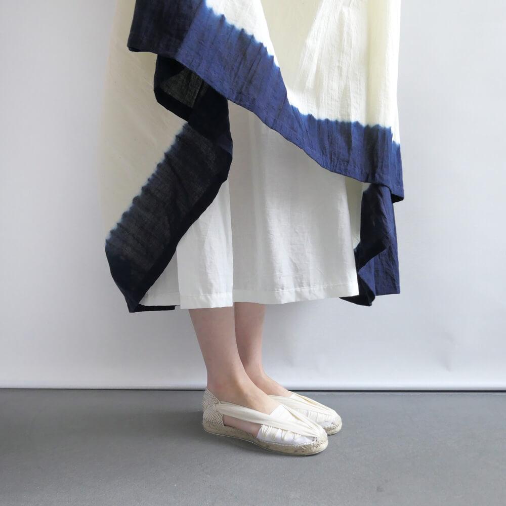 インジリ injiri : Neel-67 インディゴグラデーションスカート