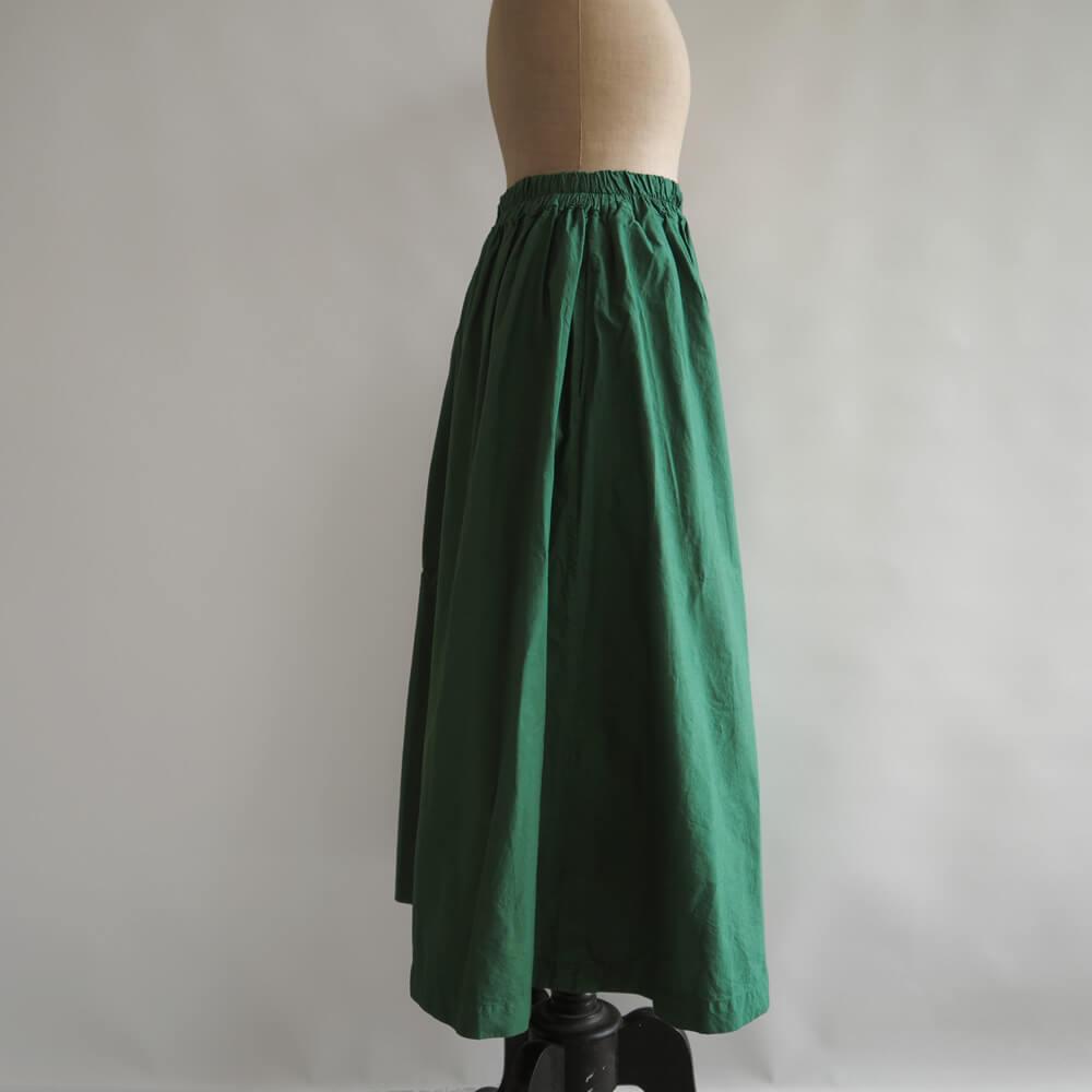 ミーターイー miiThaaii:verma long gather skirt ベルマ ロングギャザースカート