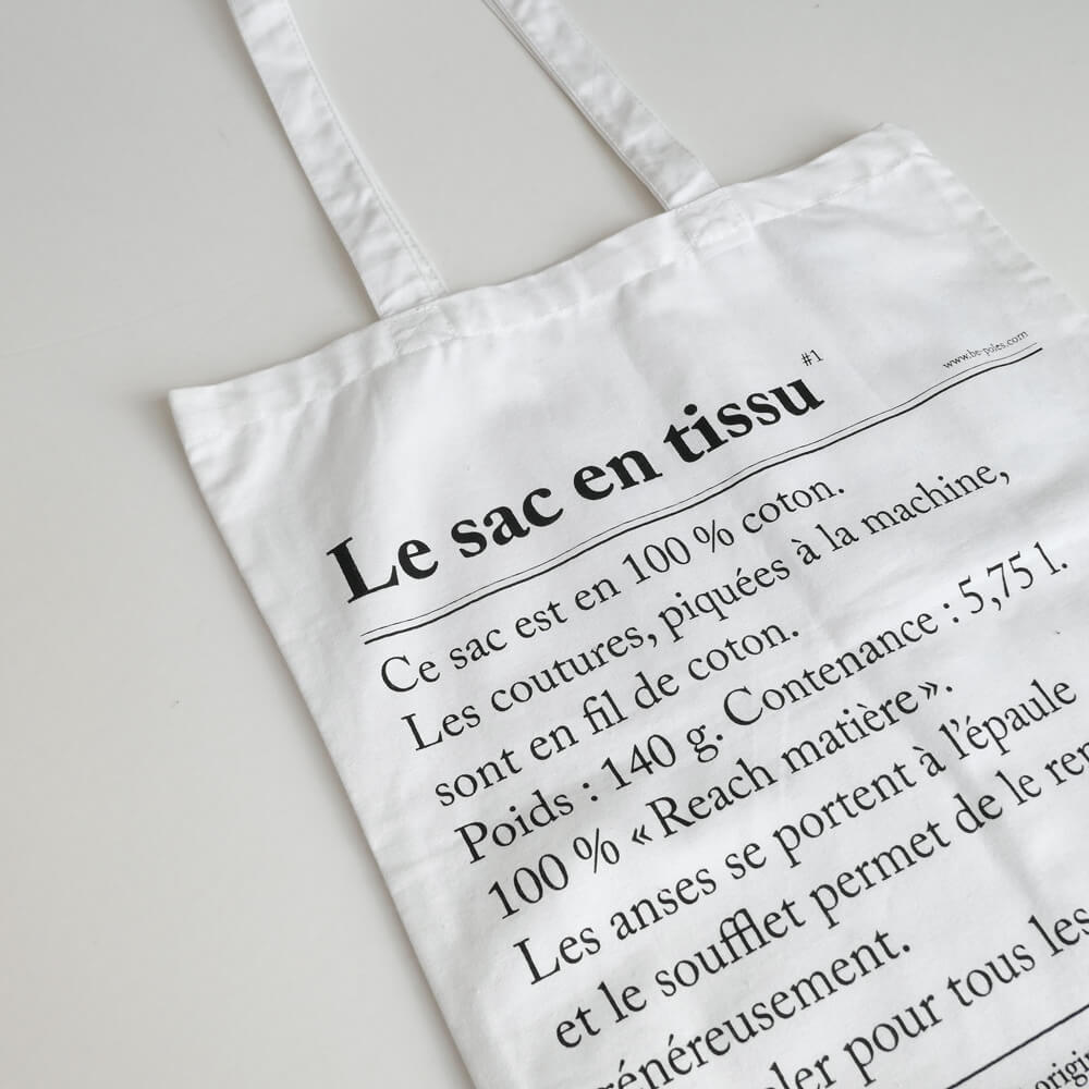 ビーポール be-poles : The cloth bag トートバッグ