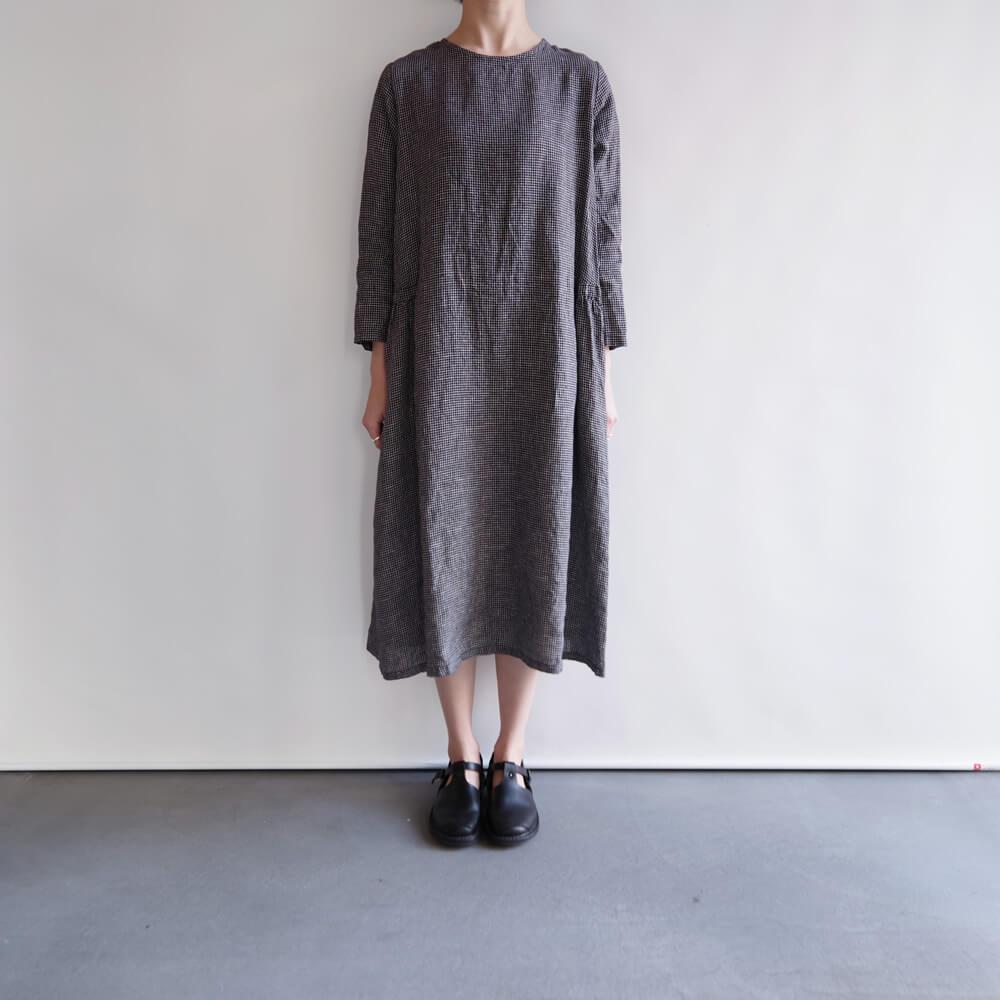 フォグリネンワーク fog linen work : CLALA DRESS クララ ワンピース