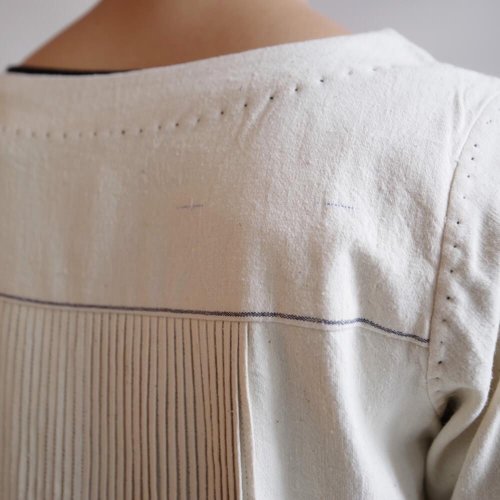 マクテキスタイルズ maku textiles : Pika ピンタックワンピース