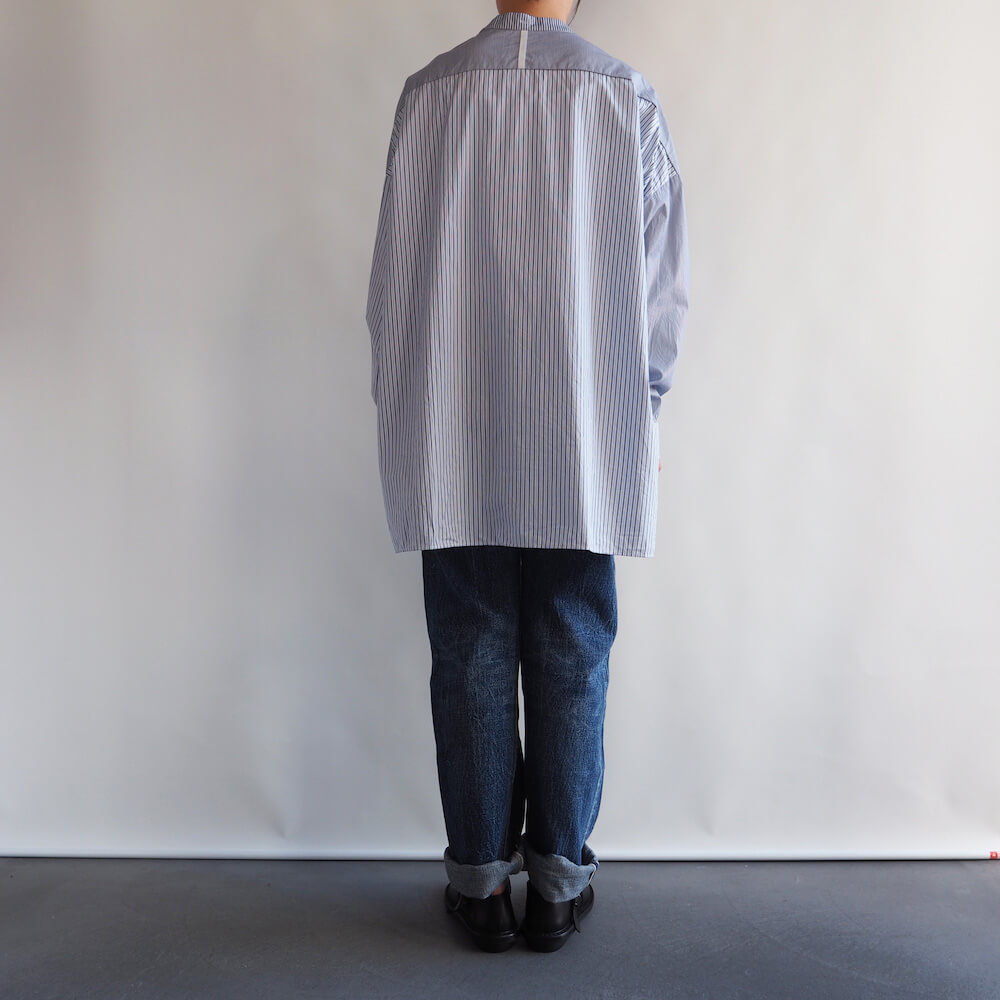 ギャレゴデスポート GALLEGO DESPORTES: large shirt with collar band