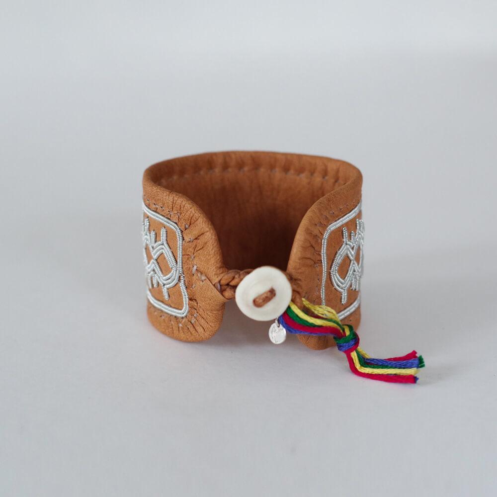 マリアルドマン MARIA RUDMAN : SAMI L bracelet (C) レザーブレスレット