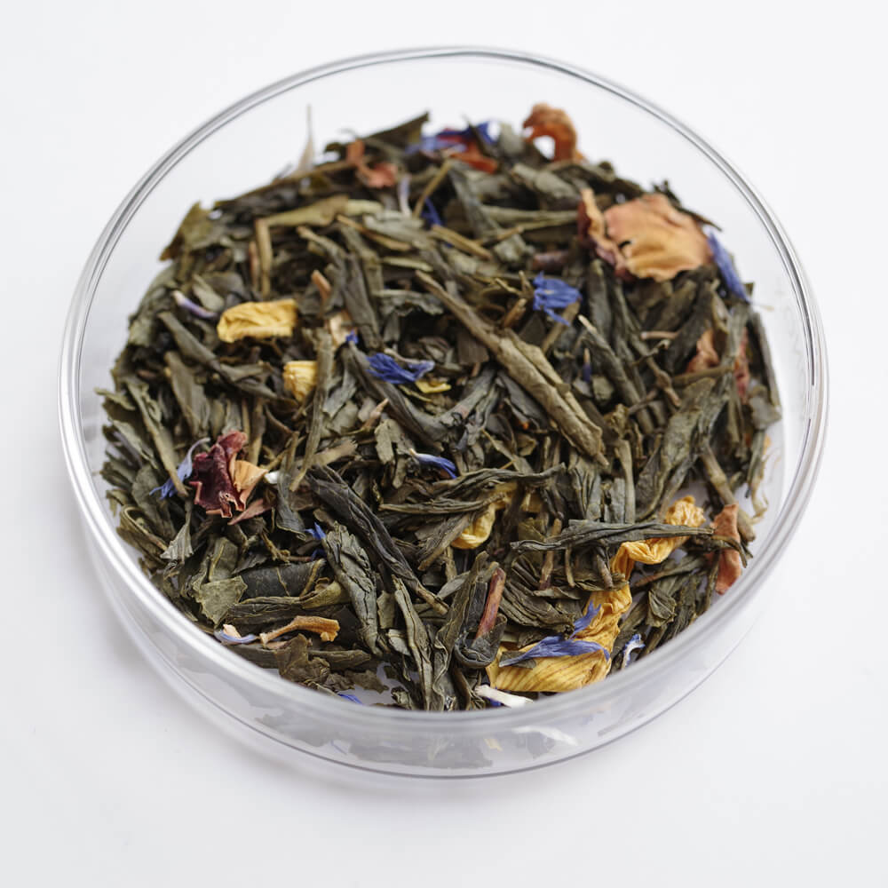 チャユアン CHA YUAN : Oie sauvage 水鳥 茶葉40g(缶)