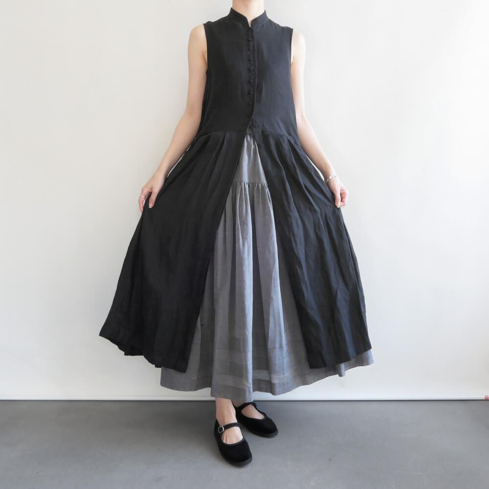 エコールドキュリオジテ ECOLE DE CURIOSITES : CLARA black ドレスコート