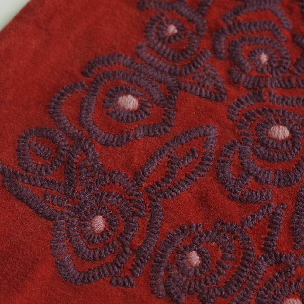 カディー&コー Khadi and Co : CAMELLIA ベルベット 巾着バッグ
