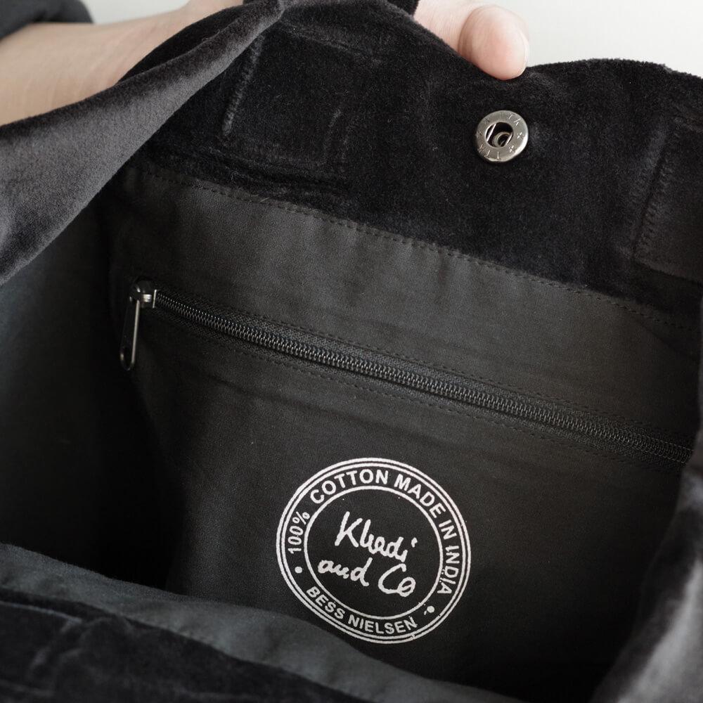 カディー&コー Khadi and Co : ROSE BAG ベルベット ハンドバッグ