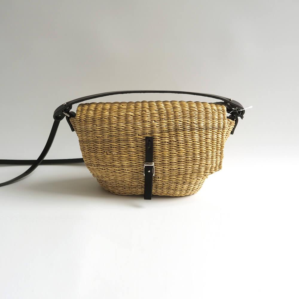 ムーニュ MUUN : HOLL かごショルダーポシェットバッグ