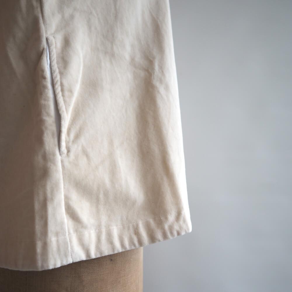 カディー&コー Khadi and Co:IBEN COTTON VELVET JACKET ベルベットジャケット